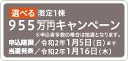 """""""限定1棟955万円キャンペーン(PC)"""